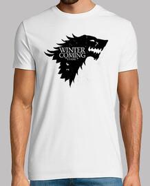 Casa Stark - Se Acerca el Invierno (Juego de Tronos)