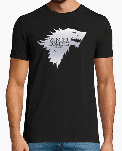 Camiseta Casa Stark (blanco)