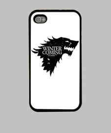 Casa Stark Juego de tronos Winter is Coming  Fundas IPhone