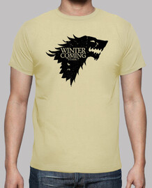 Casa Stark Juego de tronos Winter is Coming  TV Serie camisetas friki