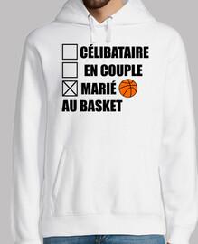 casado con baloncesto baloncesto