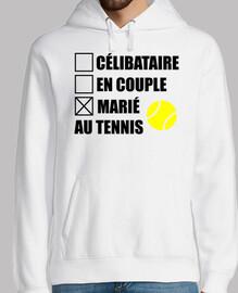 casado con el tenis