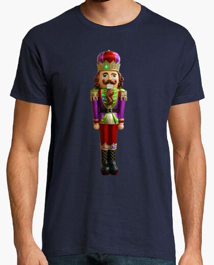 Camiseta Cascanueces navideño