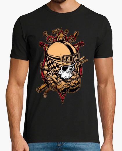 Camiseta casco calavera