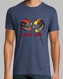 casco de motocicleta salva vidas