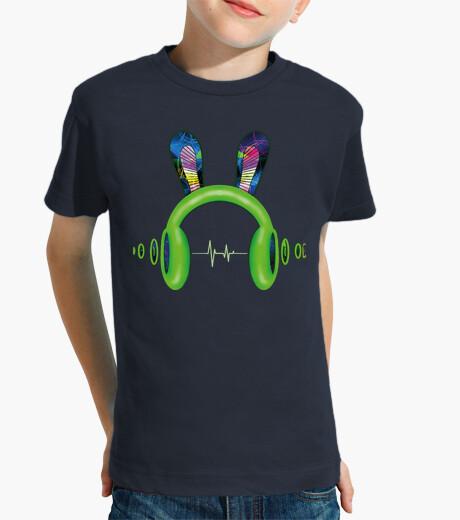 Ropa infantil Cascos con orejas y onda sonido