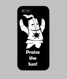 case - dark souls - solaire gentleman - praise the sun - iphone 5