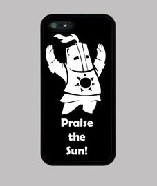 case - dark souls - solaire gentleman - praise the sun - iphone 5