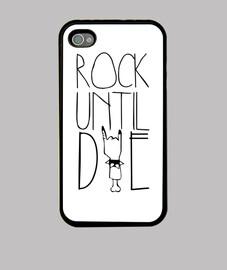 case iphone 4 and 4s - rock until die