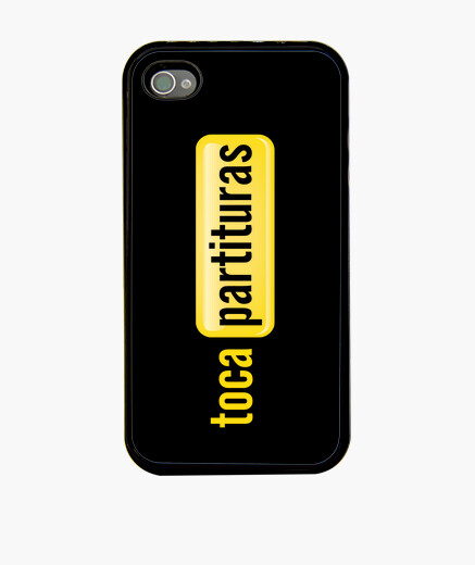 Case iphone 4 mobile tocapartituras iphone cases