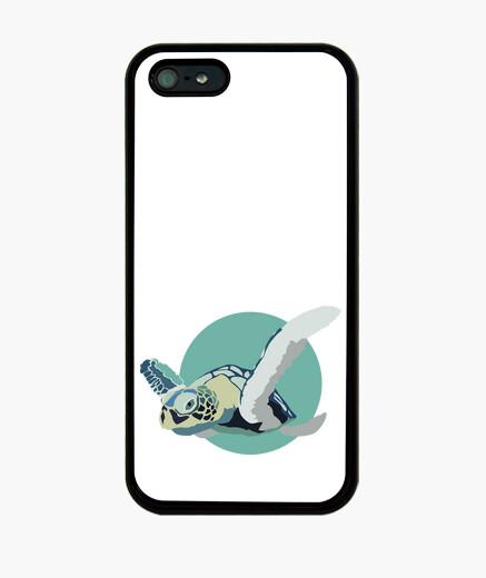 Case iphone 5 - blue turtle iphone cases