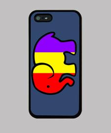 case iphone 5 republican elephant