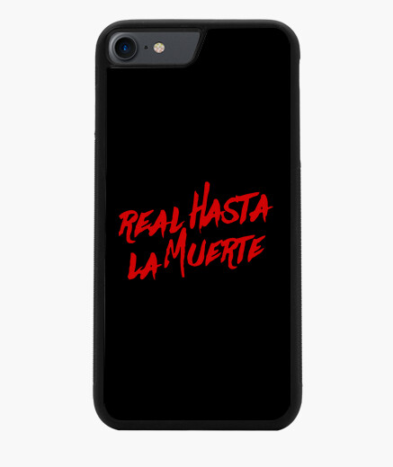 Case iphone 7/8, royal black to death...