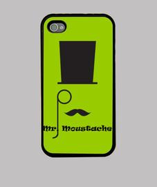 case iphone mr. mustache