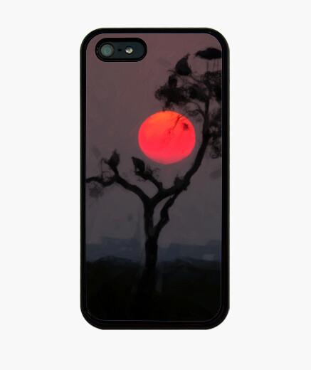 Funda iPhone Case phone shadow tree