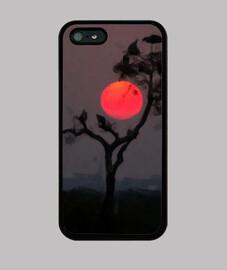Case phone shadow tree