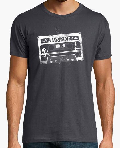 Tee-shirt case vous êtes hard rock blanc