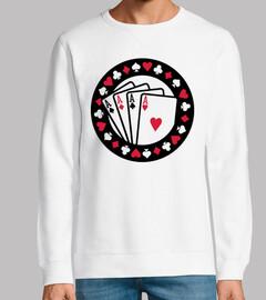 Casino Poker-Asse