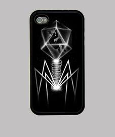 caso del iphone 4 / 4s bacteriófago