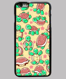 caso del teléfono del modelo adorable tortuga