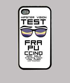 caso di iphone 4 hipster di test