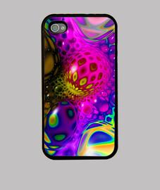 caso multicolor mandala