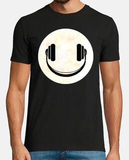 Casque music smile Lune
