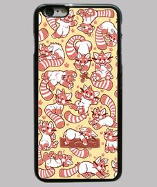 cassa del telefono diffusione panda rosso