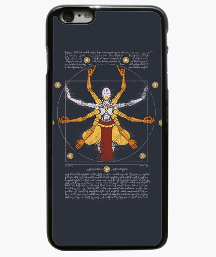 Cover iPhone 6 Plus  / 6S Plus cassa del telefono omnic vitruviano