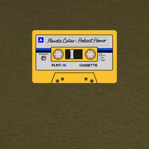 T-shirt Cassette Podcast