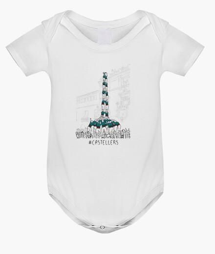 Ropa infantil Castellers - Body nadó amb pigments ecològics
