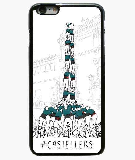 Castellers - Funda iPhone 6 Plus / 6S Plus 6 Plus, negra