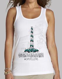 Castellers - Samarreta de noia, sense mànigues
