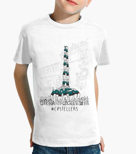 Ropa infantil Castellers - Samarreta infantil 100 cotó