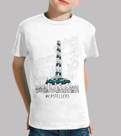 Castellers - Samarreta infantil 100 cotó
