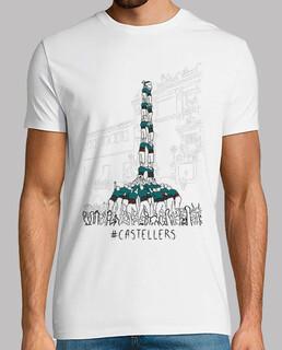 castellers - samarreta noi, extra qualitat