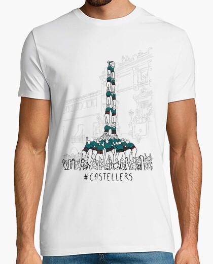 Tee-shirt castellers - samarreta noi, qualitat supplémentaire