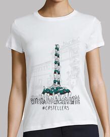 castellers - samarreta noia, des pigments ecologics i amb qualitat prem