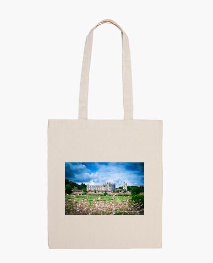 Castelli della Loira, Borsa a tracolla in cotone