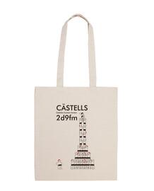 Castells 2d9fm tote bag