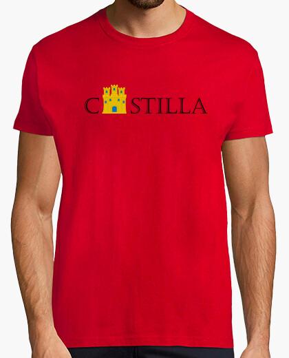 Tee-shirt castilla avec le château