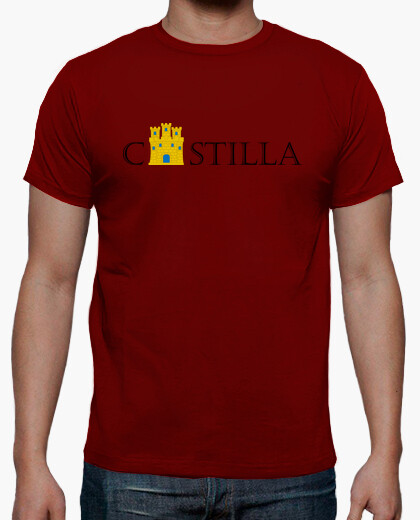 Castilla with castle t-shirt