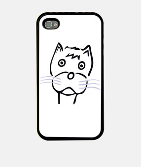 cat 5 couverture de l'iphone 4 4s
