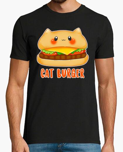 Camiseta Cat burger