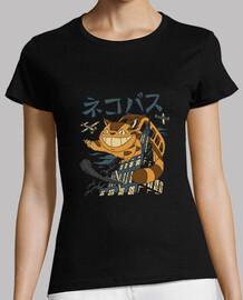 Cat Bus Kong Shirt Womens