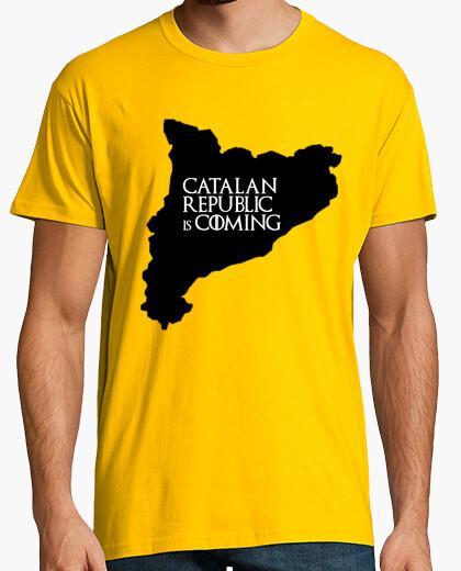 Camiseta Cat catalan republic