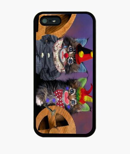 Funda iPhone Cat clowns