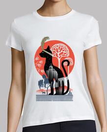 Cat Deco Shirt Womens