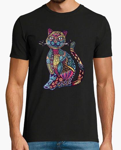 Cat mandala t-shirt