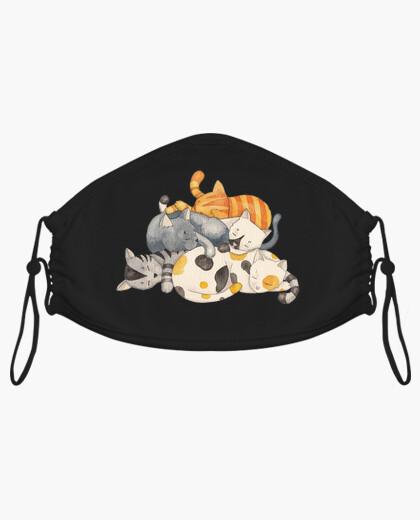Mascarilla Cat Nap - Siesta Gatos